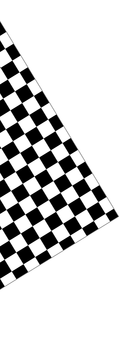 Black and white checkered butcher paper