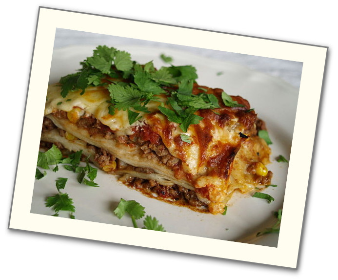 Meaty, many-layered Lasagna